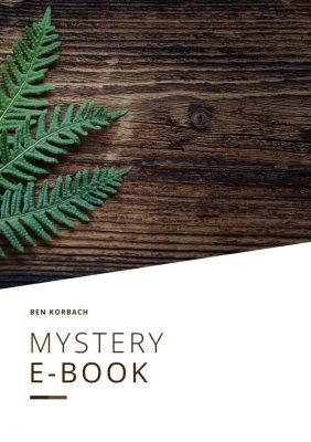 Cover Mystery-E-Book