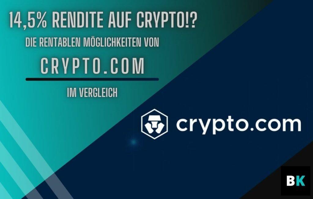 Rendite auf Crypto mit Crypto.com Coverbilde